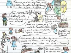 Le carnet de voyage de Claire