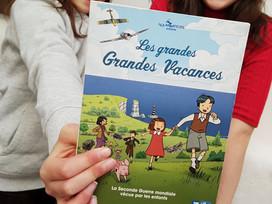 La série « Les grandes grandes vacances » : la Seconde Guerre mondiale du point de vue des enfants
