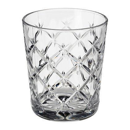 CRYSTAL CLEAR WATER GLASS