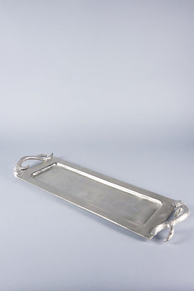 ANTIQUE SILVER | RECTANGULAR TRAY