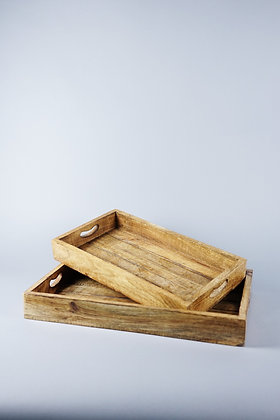 WOOD TRAY | SET