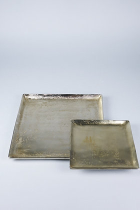 ANTIQUE GOLD | SQUARE TRAY