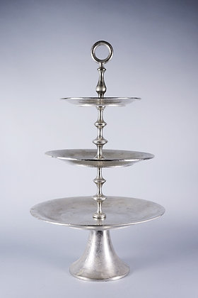 ANTIQUE SILVER | 3 TIER STAND