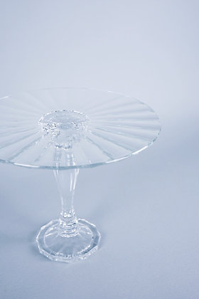 CRYSTAL CUT | CAKE STAND