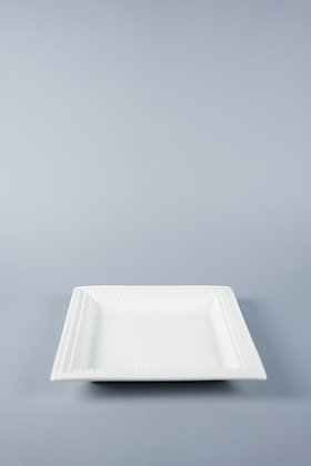 DOTED EDGE | SQUARE PLATE