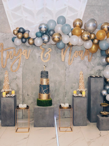 INDUSTRIAL CHIC CHRISTENING