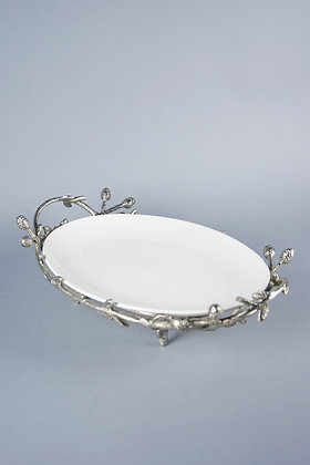 SILVER LEAF | TRAY STAND