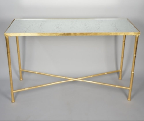 GOLD BAMBOO CONSOLE