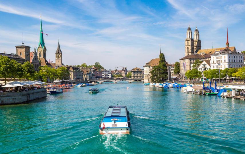Fitting | Zurich lake