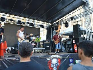 Fotos da Apresentação do Lau Blues Band e do Erva de Rato no Dia Mundial do Rock