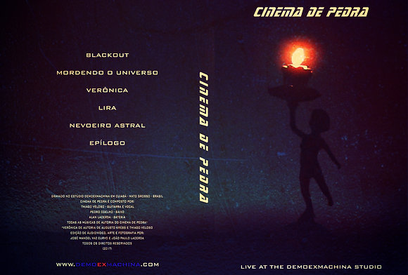 DVD CINEMA DE PEDRA - LIVE AT THE DEMOEXMACHINA