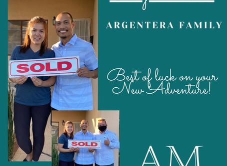 Congratulations to the Argentera Family!