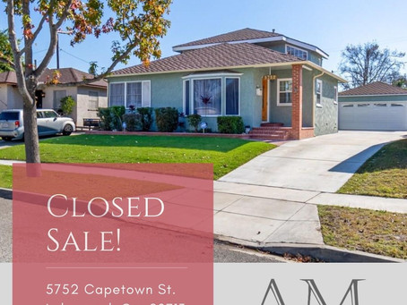 Lakewood Home Sold!