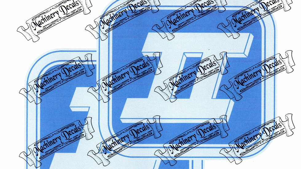 SERIES 2 FORD SIDE PANEL DECALS