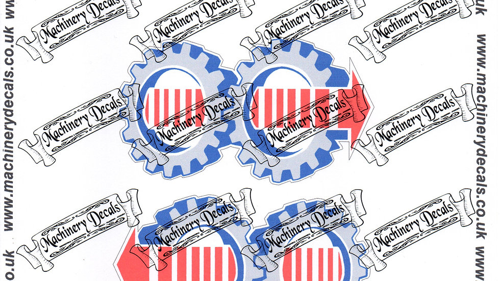 FORD SYNCHROSHIFT TRACTOR DECALS
