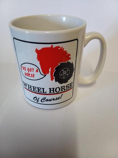 Wheel Horse Of Course! 10oz Durham Style Mug