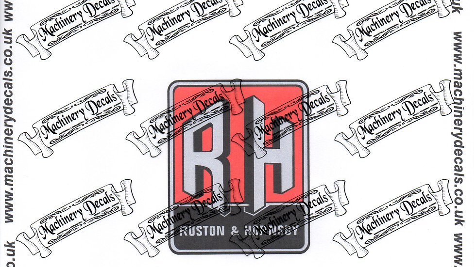 RUSTON AND HORNSBY