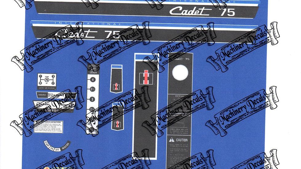 INTERNATIONAL HARVESTER CUB CADET 75