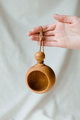 Hanging Wood Ornament