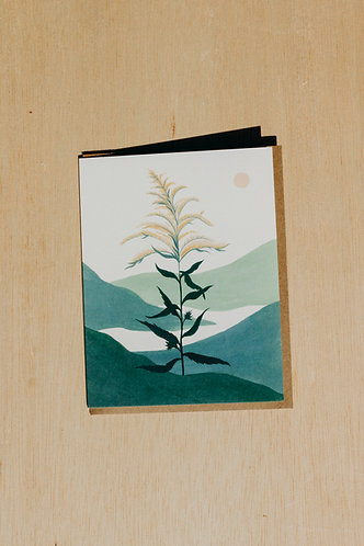 Goldenrod Card