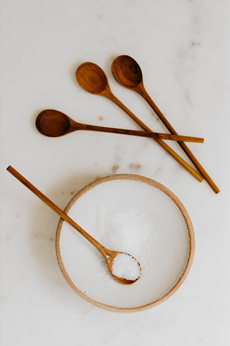 Teak Thin Spoons