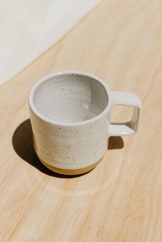 White Speckled Mug