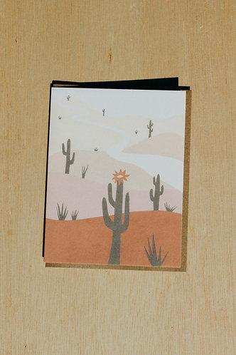 Saguaro Card