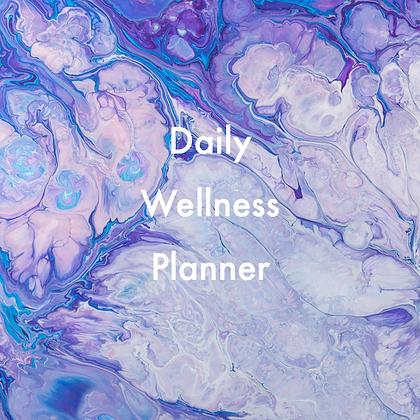 Haze Daily Wellness Planner