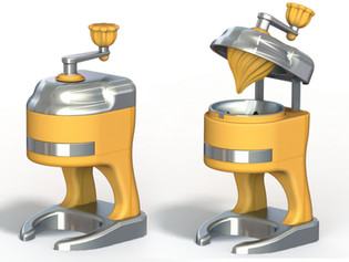 An orange juicer project