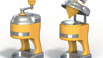 An orange juicer project