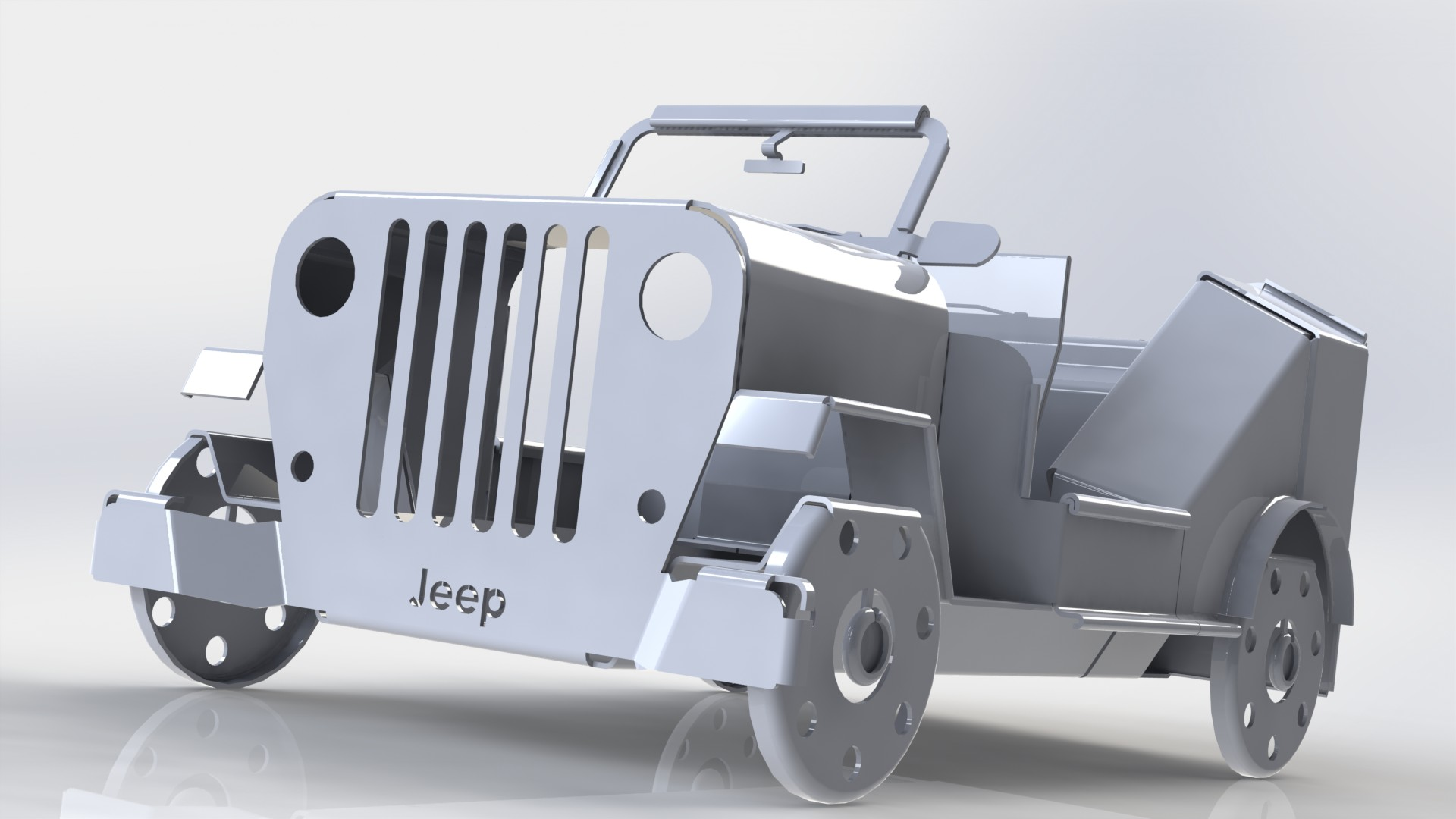 Foldable Jeep