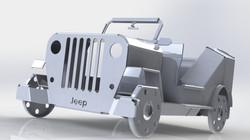 Foldable Jeep
