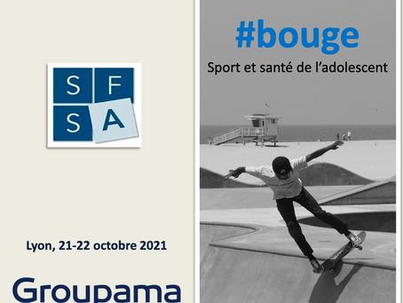 Santé de l'Adolescent: 22e JSFSA à Lyon 21-22 oct 2021