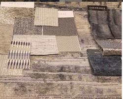 Fabrics/finishes
