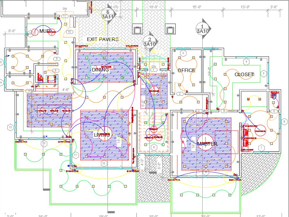 Example Electrical Plan Sneak Peak
