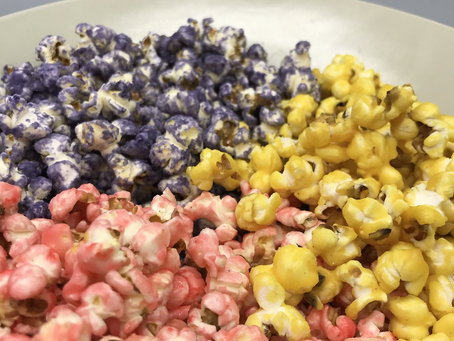 Sweet Colourful Popcorn