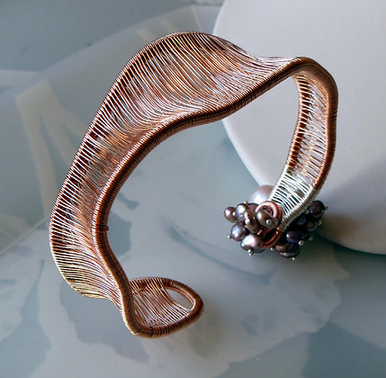 CURVATURE in ROSE GOLD