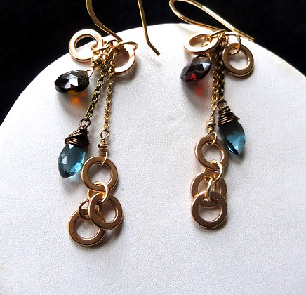 LONDON BLUE BRONZE AND GOLD