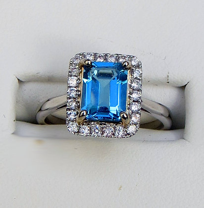 ENRAPTURED TOPAZ Ring