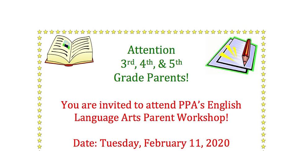 ELA Parent Workshop: Session 2
