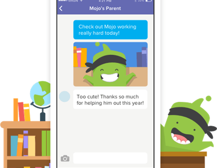 Stay Connected Through Class DoJo