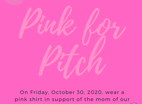 Pink for Pitch