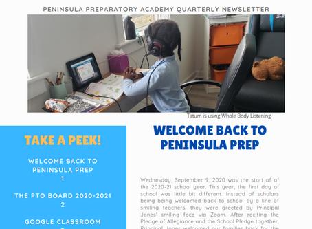 Pen Prep Quarterly Newsletter