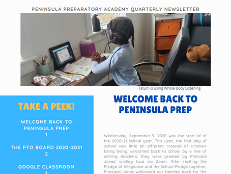 Pen Prep Quarterly Newsletter
