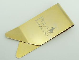 clip Polo, clip Polo Ralph Lauren, clip oro, clip dorado, sujeta billetes dorado