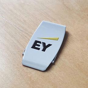DUTCHclip color EY, clip EY, clip blanco EY, clip logo EY