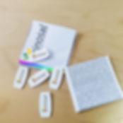 DUTCHclip color funda Zinozal, promoción fármacos, lanzamiento productos farmacéuticos, regalo para medicos