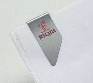 clip Rioja, promoclip, clip metalico rioja
