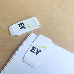 DUTCHclip color EY, clip blanco EY, clip EY, sujetapapeles EY