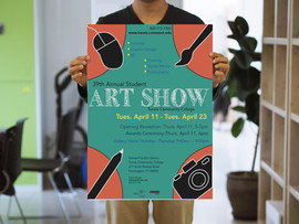 Tunxis Community College- Art Show Poster